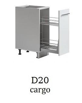 Szafka D-50 S1- prawa